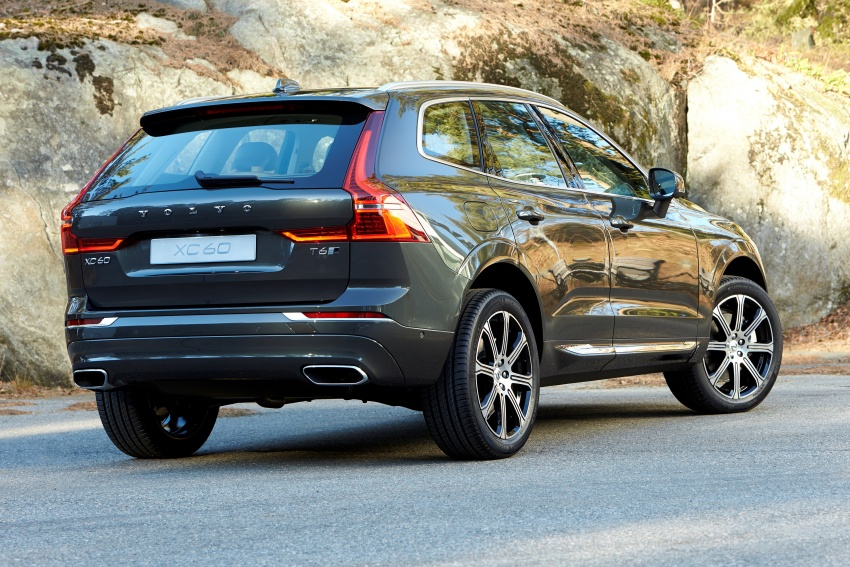 2018 Volvo XC60 unveiled – 407 hp T8 plug-in hybrid Image #625857