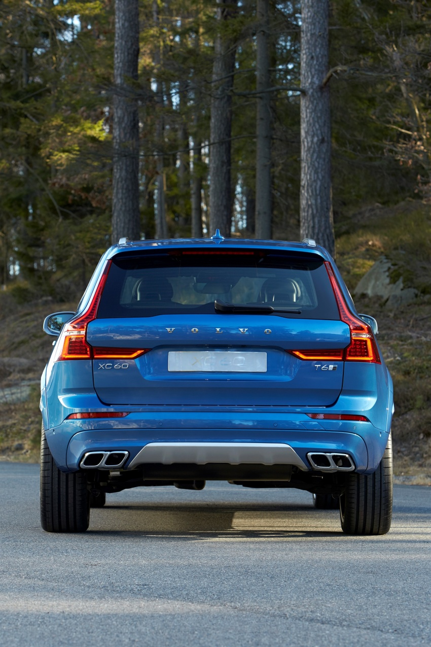 2018 Volvo XC60 unveiled – 407 hp T8 plug-in hybrid Image #625870