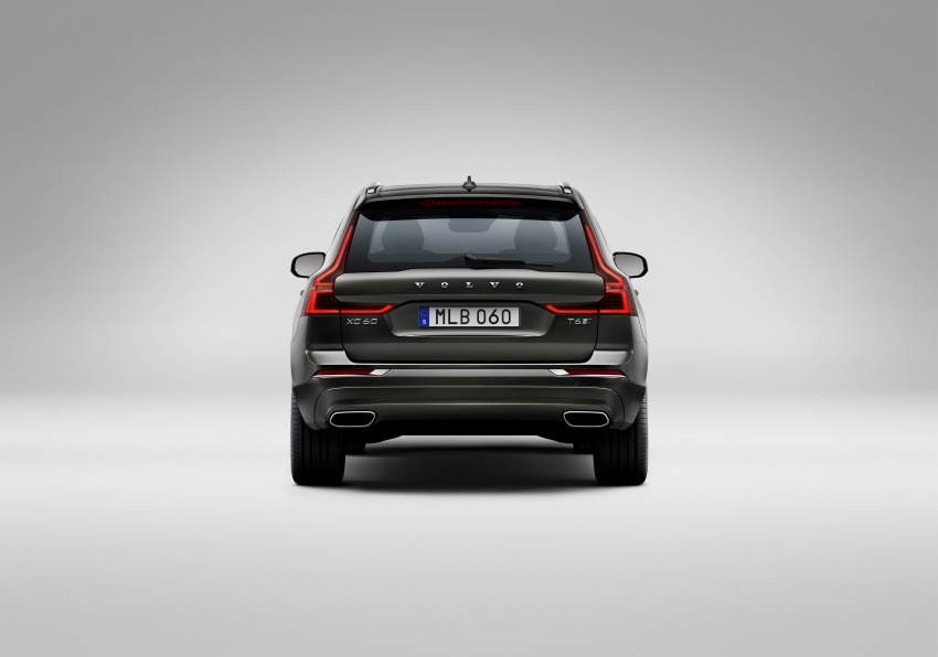2018 Volvo XC60 unveiled – 407 hp T8 plug-in hybrid Image #625976