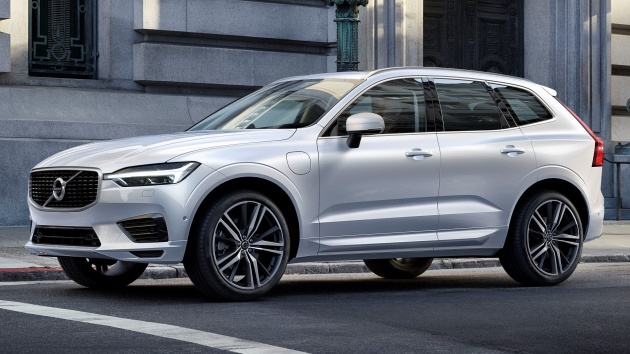 2018 Volvo XC60 unveiled – 407 hp T8 plug-in hybrid