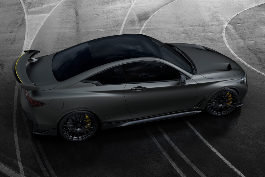 Infiniti Q60 Project Black S shown: F1-inspired, 500 hp Image #625497
