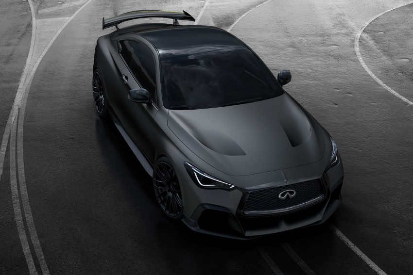 Infiniti Q60 Project Black S shown: F1-inspired, 500 hp Image #625498