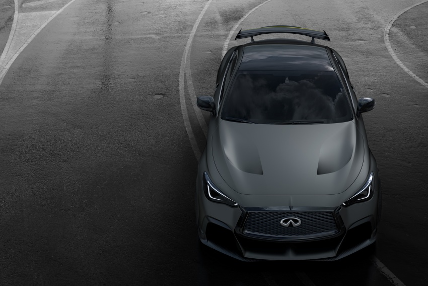 Infiniti Q60 Project Black S shown: F1-inspired, 500 hp Image #625500