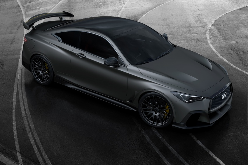Infiniti Q60 Project Black S shown: F1-inspired, 500 hp Image #625501
