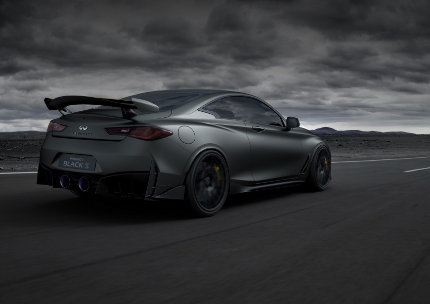 Infiniti Q60 Project Black S shown: F1-inspired, 500 hp Image #625503