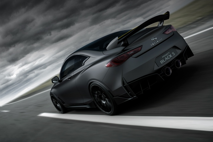 Infiniti Q60 Project Black S shown: F1-inspired, 500 hp Image #625506