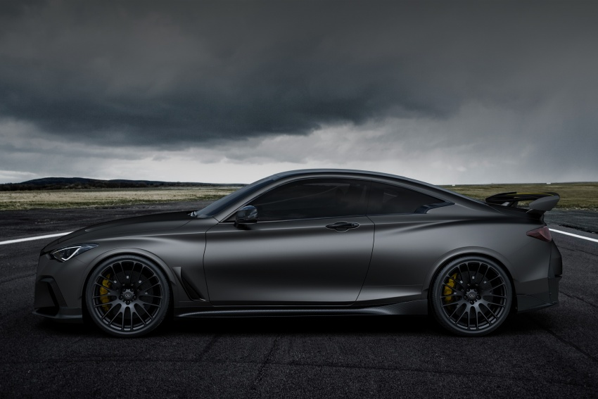 Infiniti Q60 Project Black S shown: F1-inspired, 500 hp Image #625511