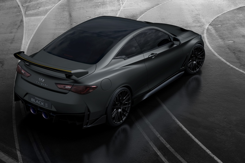 Infiniti Q60 Project Black S shown: F1-inspired, 500 hp Image #625514