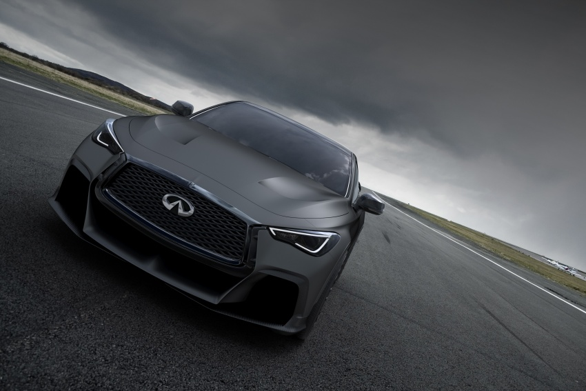 Infiniti Q60 Project Black S shown: F1-inspired, 500 hp Image #625516