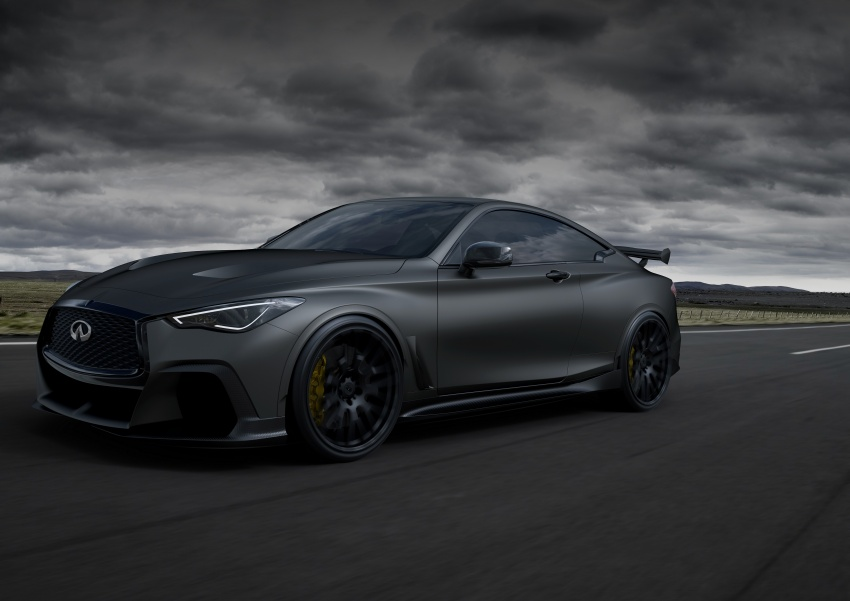 Infiniti Q60 Project Black S shown: F1-inspired, 500 hp Image #625520