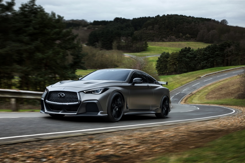 Infiniti Q60 Project Black S shown: F1-inspired, 500 hp Image #625522