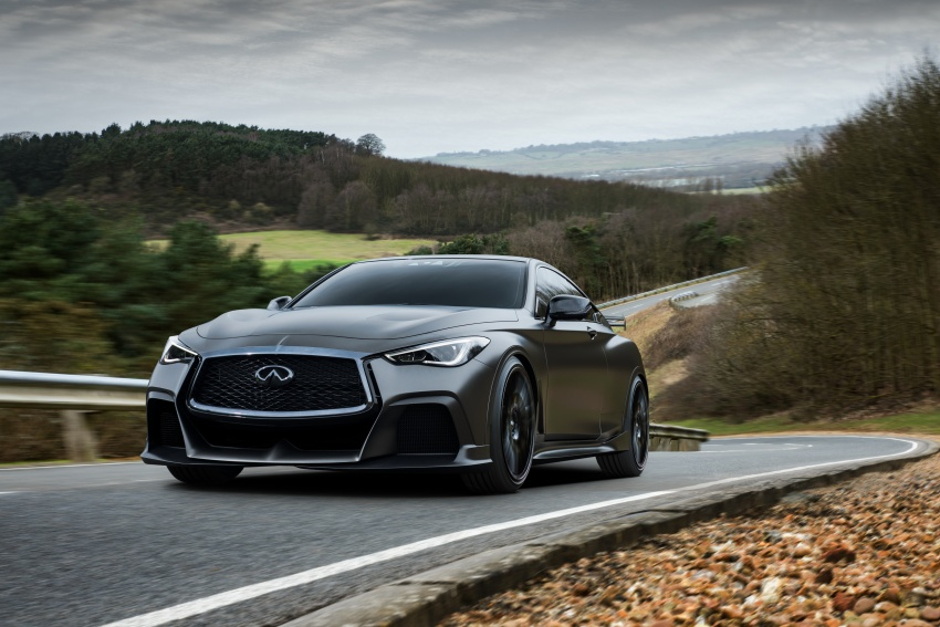 Infiniti Q60 Project Black S shown: F1-inspired, 500 hp Image #625524