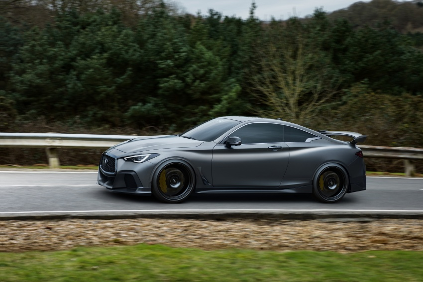 Infiniti Q60 Project Black S shown: F1-inspired, 500 hp Image #625525