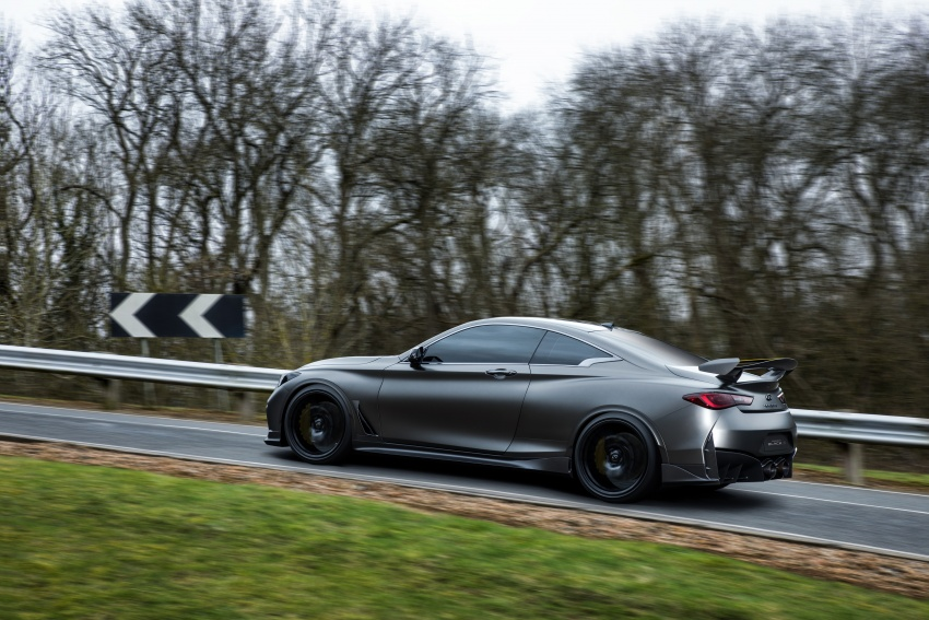 Infiniti Q60 Project Black S shown: F1-inspired, 500 hp Image #625526