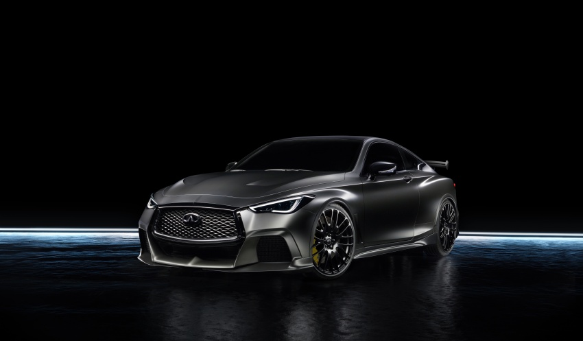 Infiniti Q60 Project Black S shown: F1-inspired, 500 hp Image #625528