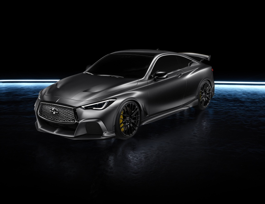 Infiniti Q60 Project Black S shown: F1-inspired, 500 hp Image #625530