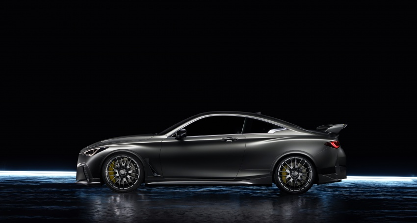 Infiniti Q60 Project Black S shown: F1-inspired, 500 hp Image #625531