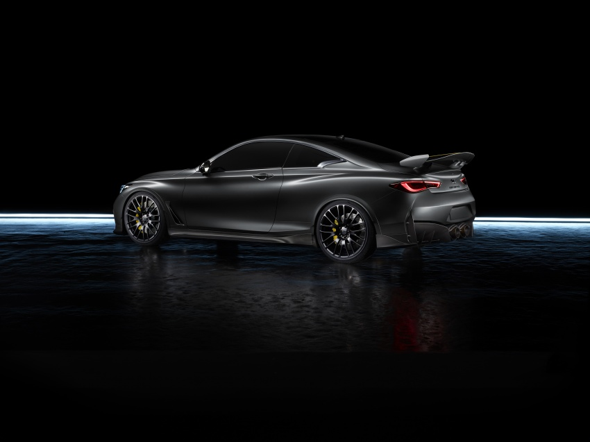 Infiniti Q60 Project Black S shown: F1-inspired, 500 hp Image #625532