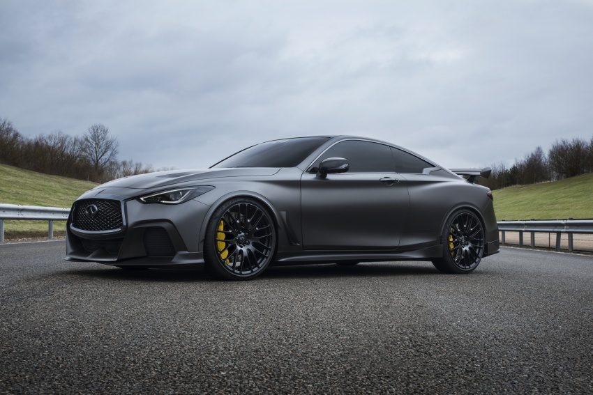 Infiniti Q60 Project Black S shown: F1-inspired, 500 hp Image #625538