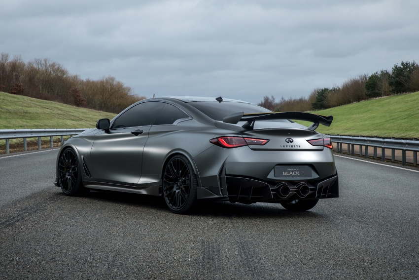 Infiniti Q60 Project Black S shown: F1-inspired, 500 hp Image #625544