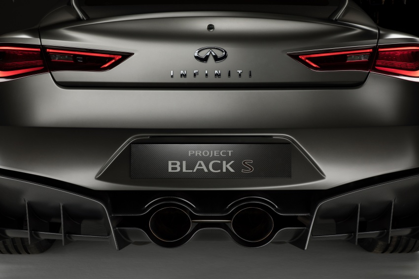 Infiniti Q60 Project Black S shown: F1-inspired, 500 hp Image #625555