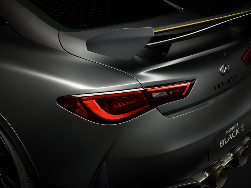 Infiniti Q60 Project Black S shown: F1-inspired, 500 hp Image #625614