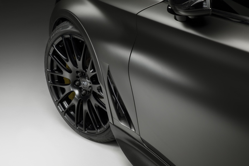 Infiniti Q60 Project Black S shown: F1-inspired, 500 hp Image #625615