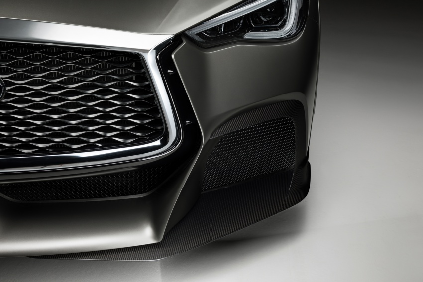 Infiniti Q60 Project Black S shown: F1-inspired, 500 hp Image #625620