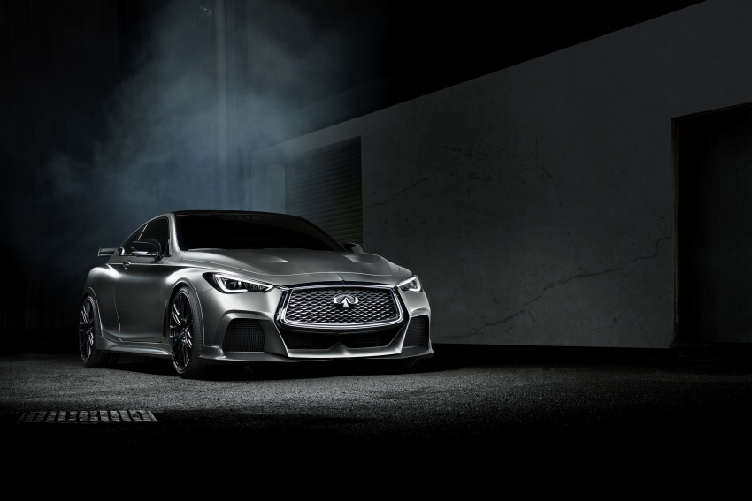 Infiniti Q60 Project Black S shown: F1-inspired, 500 hp Image #625631