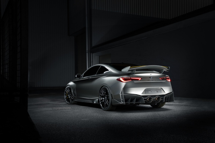 Infiniti Q60 Project Black S shown: F1-inspired, 500 hp Image #625636