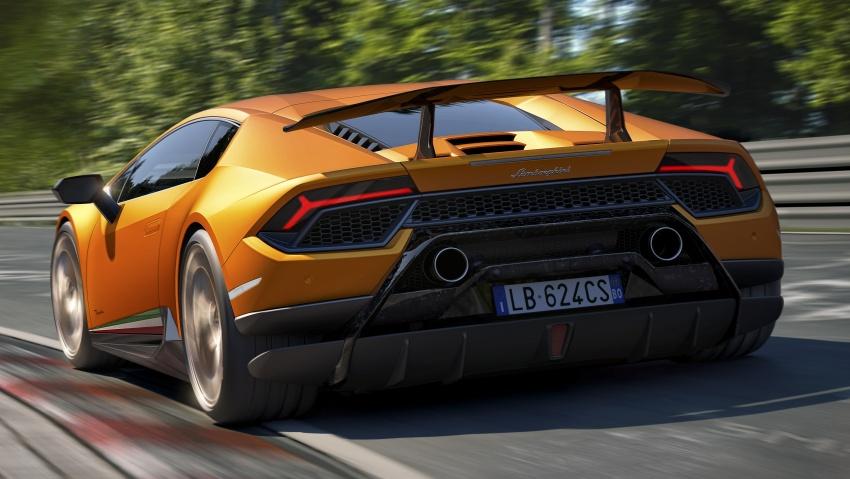 Lamborghini Huracan Performante: 640 hp, active aero Image #625035
