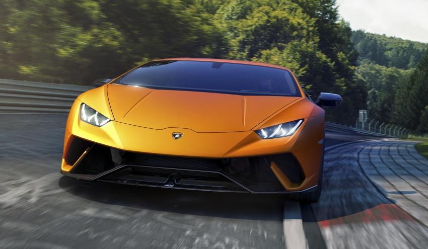 Lamborghini Huracan Performante: 640 hp, active aero Image #625036