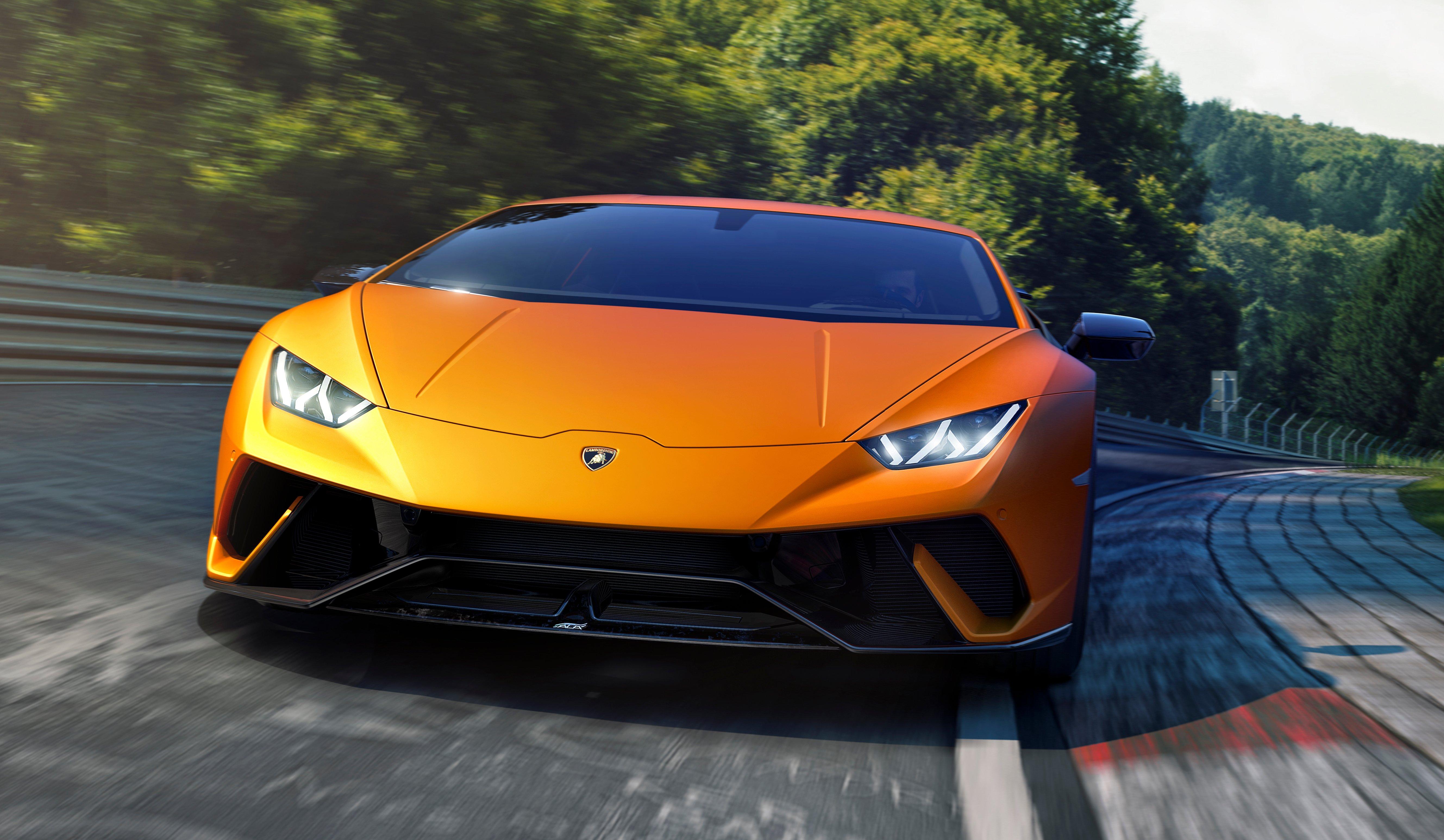 Lamborghini Huracan Performante 640 Hp Active Aero Paul