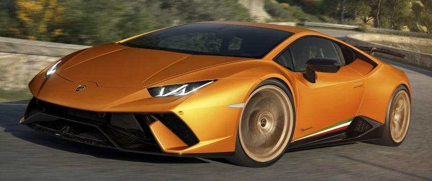 Lamborghini Huracan Performante: 640 hp, active aero Image #625037