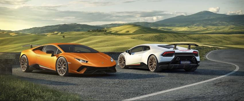 Lamborghini Huracan Performante: 640 hp, active aero Image #625041