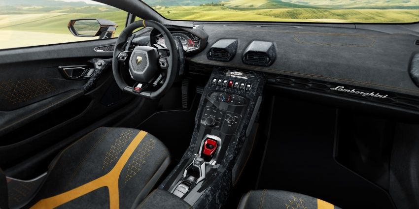Lamborghini Huracan Performante: 640 hp, active aero Image #625042