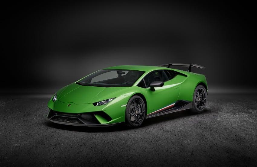 Lamborghini Huracan Performante: 640 hp, active aero Image #625043