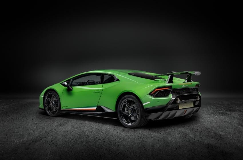 Lamborghini Huracan Performante: 640 hp, active aero Image #625044