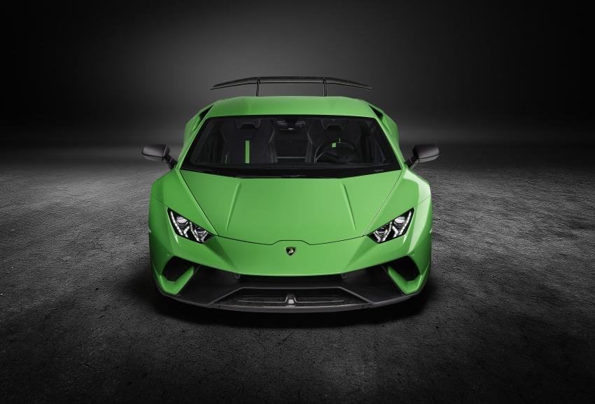 Lamborghini Huracan Performante: 640 hp, active aero Image #625045