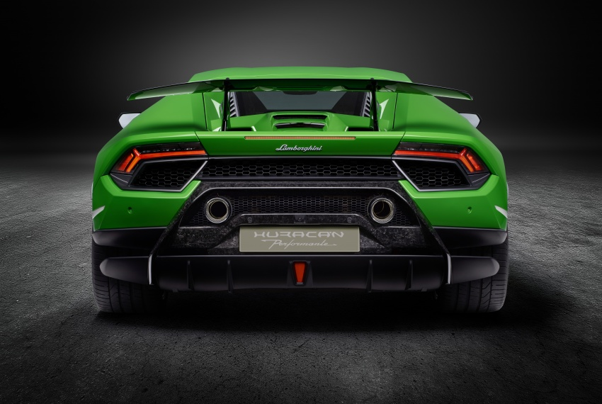 Lamborghini Huracan Performante: 640 hp, active aero Image #625047