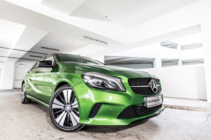 Mercedes-Benz A200 Activity Edition: 30 only, RM206k Image #628310