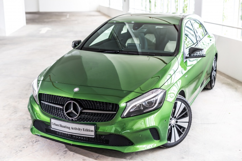 Mercedes-Benz A200 Activity Edition: 30 only, RM206k Image #628319