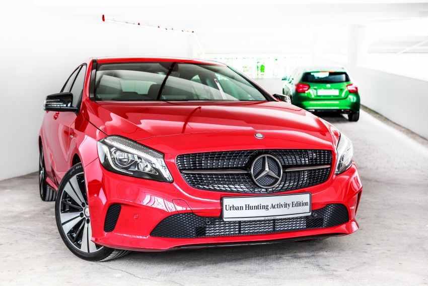 Mercedes-Benz A200 Activity Edition: 30 only, RM206k Image #628331