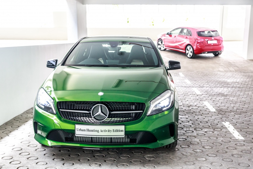 Mercedes-Benz A200 Activity Edition: 30 only, RM206k Image #628332