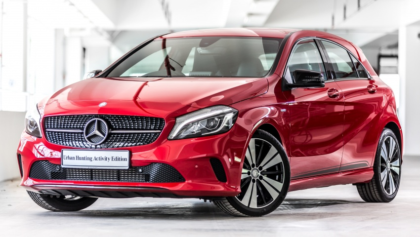 Mercedes-Benz A200 Activity Edition: 30 only, RM206k Image #628305