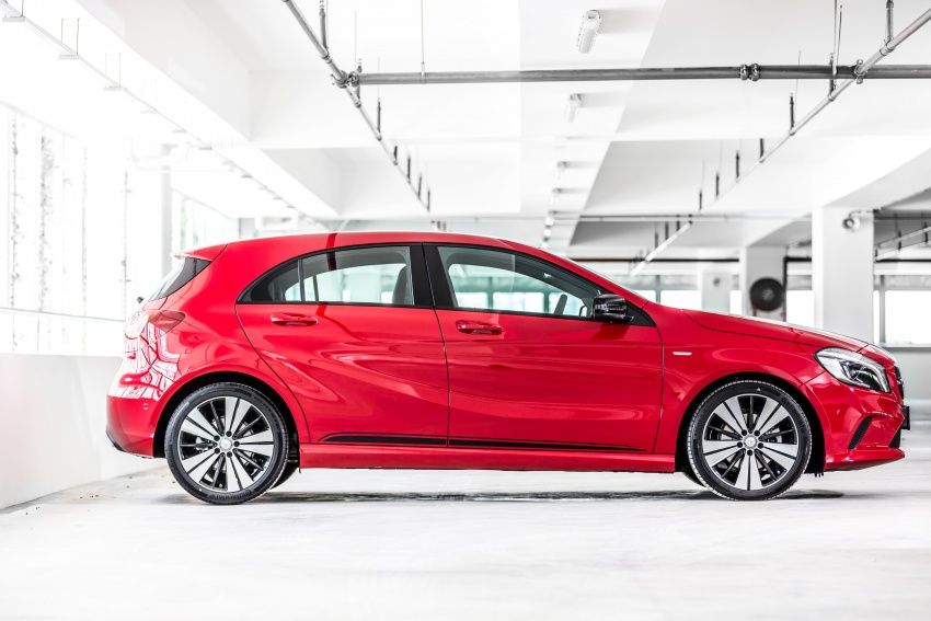 Mercedes-Benz A200 Activity Edition: 30 only, RM206k Image #628309