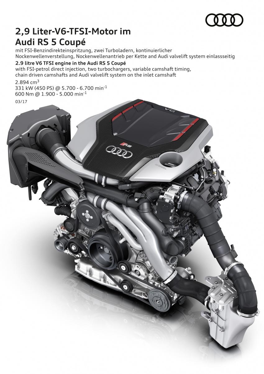 Audi RS5 Coupe debuts in Geneva – 450 hp, 600 Nm Image #625563