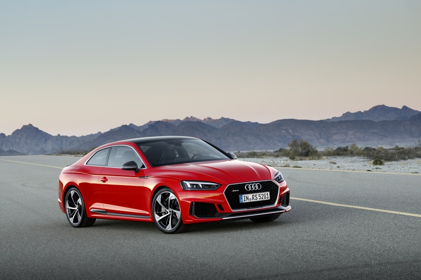 Audi RS5 Coupe debuts in Geneva – 450 hp, 600 Nm Image #625644