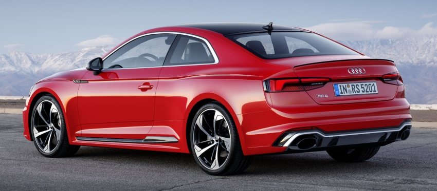 Audi RS5 Coupe debuts in Geneva – 450 hp, 600 Nm Image #625641