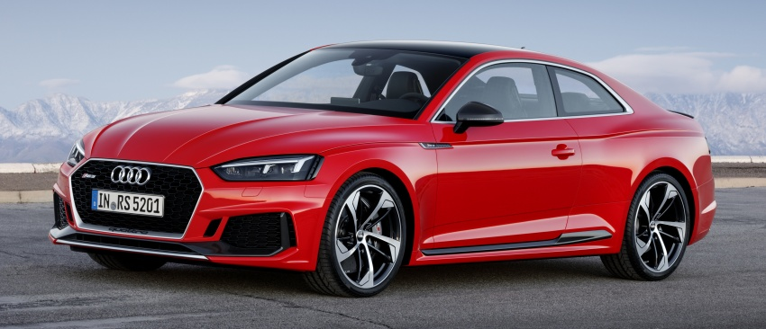Audi RS5 Coupe debuts in Geneva – 450 hp, 600 Nm Image #625638